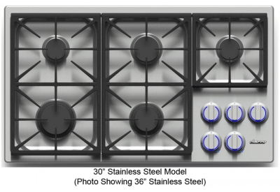 Dacor - DYCT304GS/NG/H - Gas Cooktops