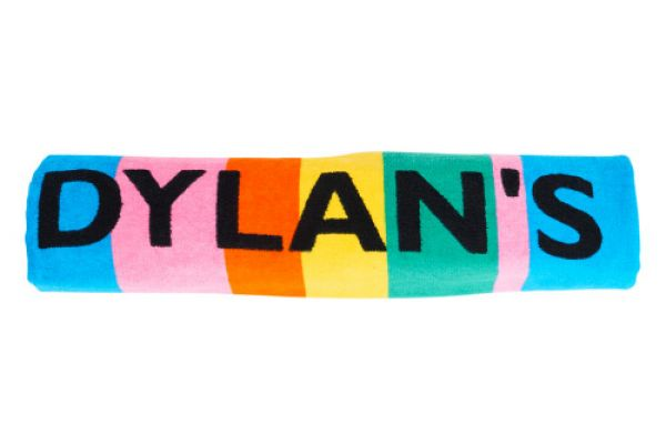 Dylans Candy Bar Signature Stripe Beach Towel - 90601-DYLANS