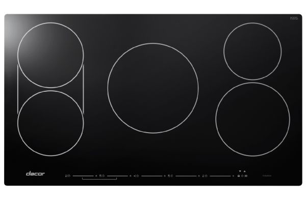 """Dacor Discovery 36"""" Black Glass TouchTop Induction Cooktop  - DYTT365NB"""