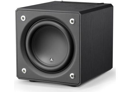 jl audio 10 black ash e sub powered subwoofer 96276. Black Bedroom Furniture Sets. Home Design Ideas