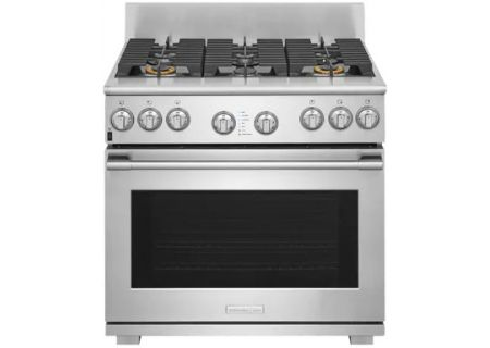 "Electrolux ICON 36"" Stainless Steel Dual-Fuel Freestanding Range - E36DF76TPS"