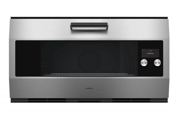 """Large image of Gaggenau 36"""" Stainless Steel Smart Electric Single Wall Oven - EB333611"""