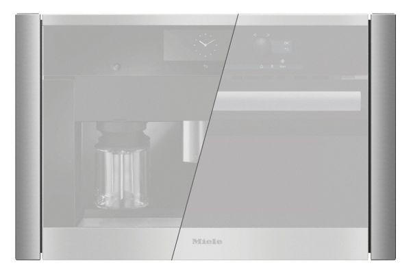 """Large image of Miele 27"""" ContourLine Stainless Steel Trim Kit - 10178300"""