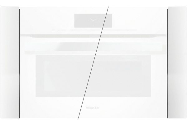 "Miele Brilliant White PureLine 30"" Trim Kit - EBA6808BRWS"