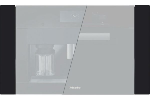 "Large image of Miele Black Pureline 30"" Trim Kit - 09863810"