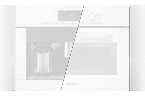 "Large image of Miele White PureLine 30"" Trim Kit - 09767530"