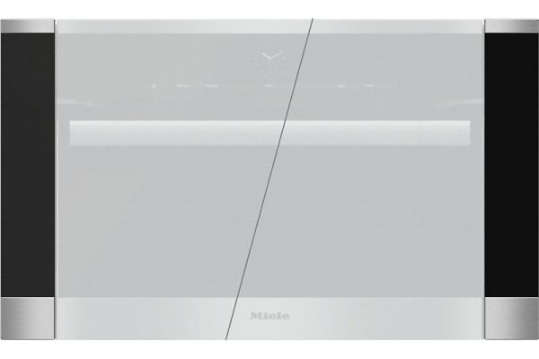 "Large image of Miele Stainless Steel PureLine 30"" Trim Kit - 09063520"