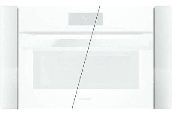 "Large image of Miele 30"" White PureLine Brilliant Trim Kit - 10706150"