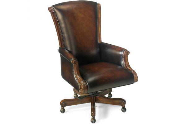 Large image of Hooker Furniture Home Office Samuel Executive Swivel Tilt Chair - EC245