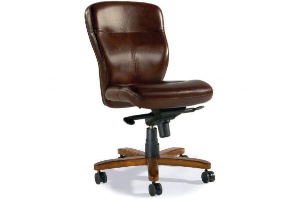 Large image of Hooker Furniture Home Office Sasha Executive Swivel Tilt Chair - EC289