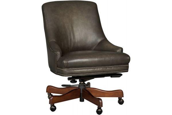 Large image of Hooker Furniture Home Office Heidi Executive Swivel Tilt Arm Chair - EC403-095