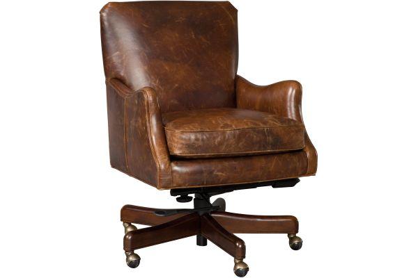 Large image of Hooker Furniture Home Office Barker Tilt Swivel Chair - EC438-089