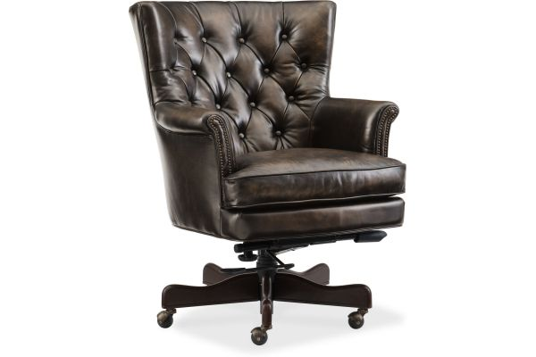 Large image of Hooker Furniture Theodore Home Office Chair - EC594-088