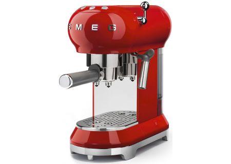 Smeg - ECF01RDUS - Coffee Makers & Espresso Machines