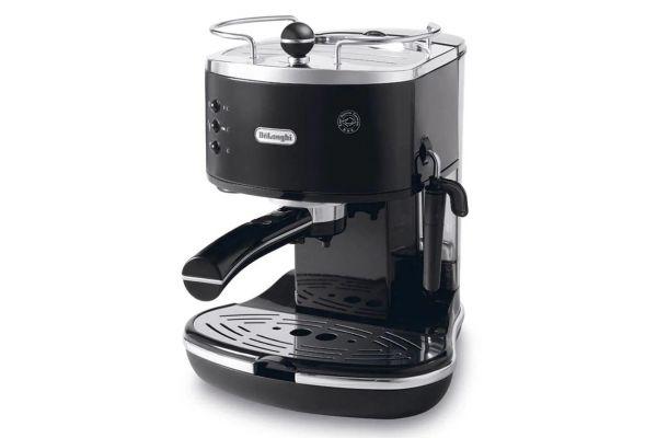Large image of DeLonghi Black Icona Pump Espresso Machine - ECO310BK