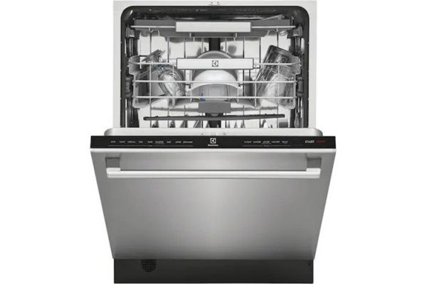 """Large image of Electrolux Tub 24"""" Stainless Steel Built-In Dishwasher with LuxCare Wash Arm - EDSH4944AS"""