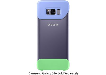 Samsung Galaxy S8+ Violet/Green Two Piece Cover - EF-MG955CVEGWW