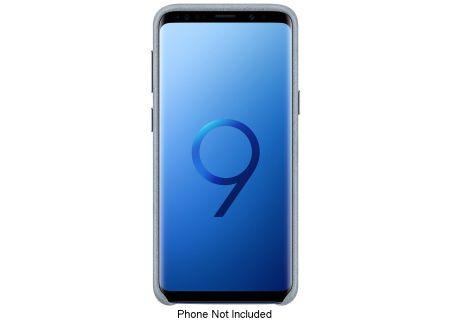 Samsung Galaxy S9 Mint Alcantara Phone Cover - EF-XG960AMEGUS