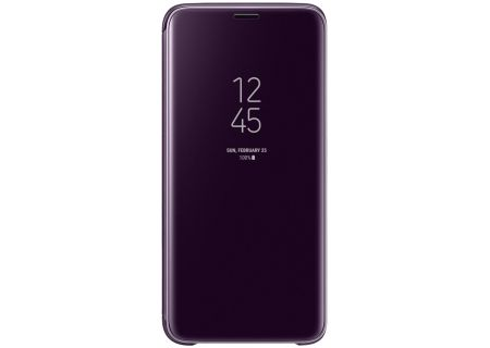 Samsung Galaxy S9+ Violet S-View Flip Cover - EF-ZG965CVEGUS