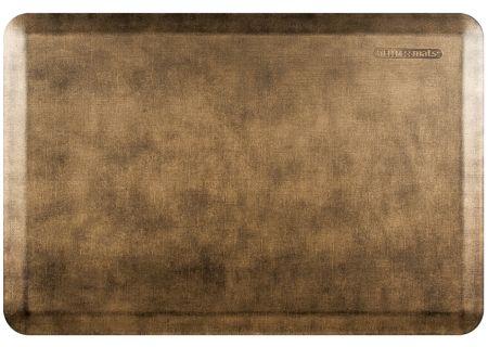 WellnessMats Linen Collection 3x2 Bronze Mat - EL32WMRBGBLK