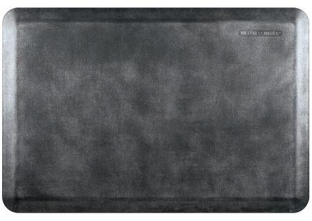 WellnessMats Linen Collection 3x2 Onyx Mat - EL32WMRBNBLK