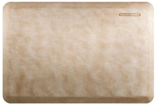 WellnessMats Linen Collection 3x2 Sand Dollar Mat - EL32WMRWTAN
