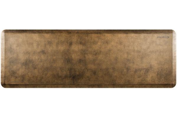 Large image of WellnessMats Linen Collection 6x2 Bronze Mat - EL62WMRBGBLK