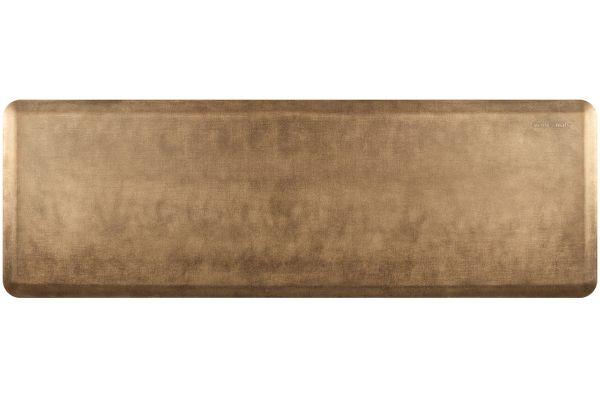 Large image of WellnessMats Linen Collection 6x2 Burnished Copper Mat - EL62WMRBGBRN