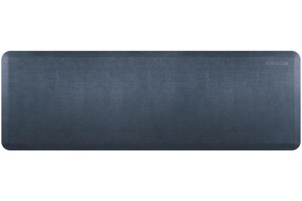 WellnessMats Linen Collection 6x2 Lagoon Mat - EL62WMRBGRY