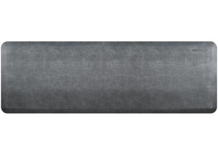 WellnessMats Linen Collection 6x2 Slate Mat - EL62WMRBNGRY