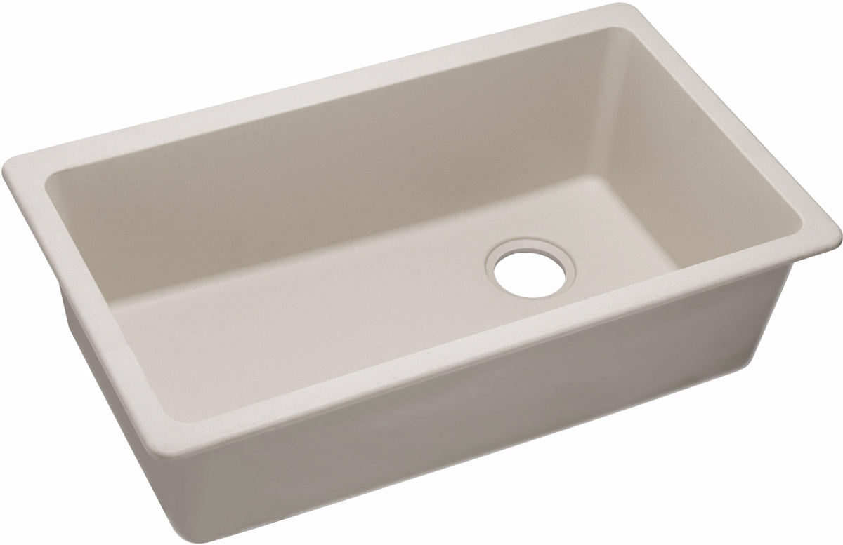 Elkay gourmet e granite undermount sink elgu13322bq - Bq kitchen sinks ...