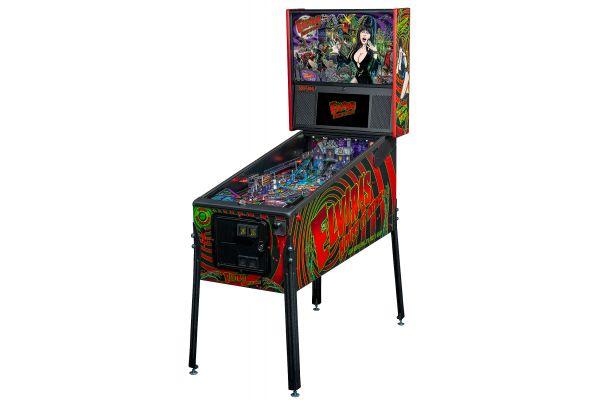 Large image of Stern Pinball Elvira's House Of Horrors Premium Edition Pinball Machine - ELVIRAPREMIUM