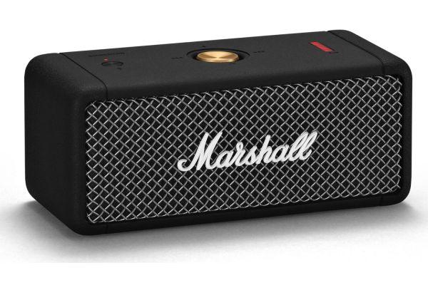 Large image of Marshall Emberton Black Portable Bluetooth Speaker - 1001908