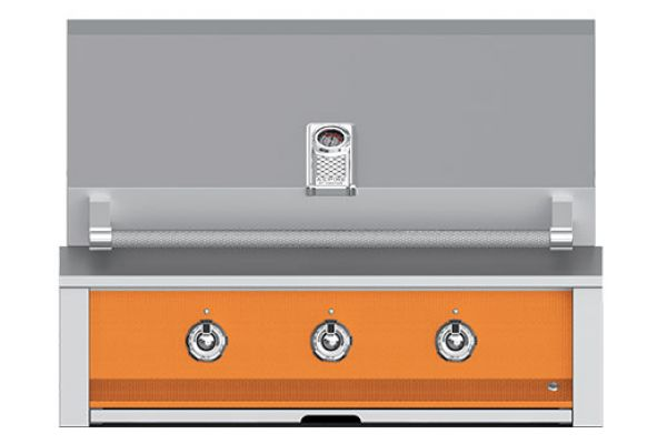 """Large image of Hestan Aspire 36"""" Citra Built-In Sear And U- Burner Rotisserie Natural Gas Grill - EMBR36-NG-OR"""
