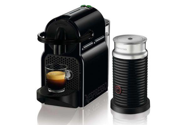 DeLonghi Nespresso Black Inissia Espresso Maker - EN 80.BAE
