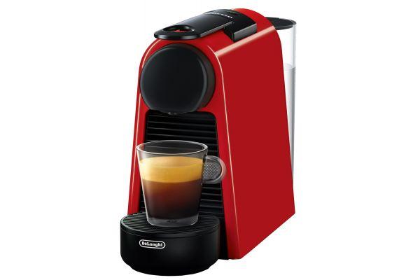 Nespresso Ruby Red Essenza Mini Espresso Machine - EN85R