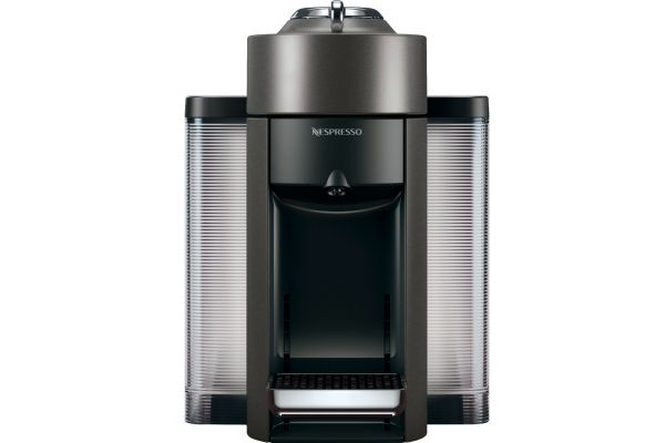 Large image of Nespresso Graphite Grey Vertuo Evoluo Espresso Machine - ENV135GY