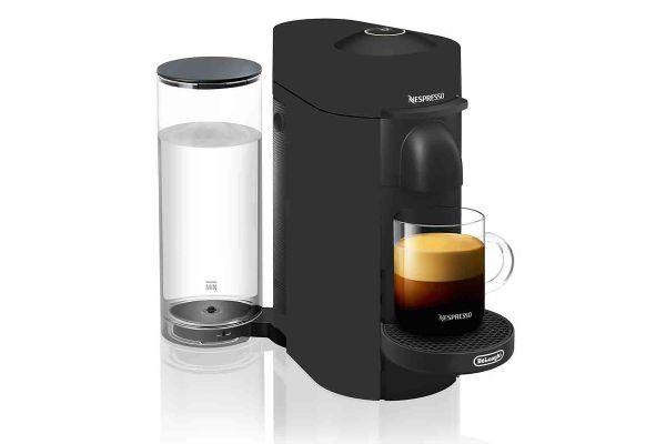 Delonghi Matte Black Nespresso Vertuo Plus Coffee And Espresso Maker - ENV150BM