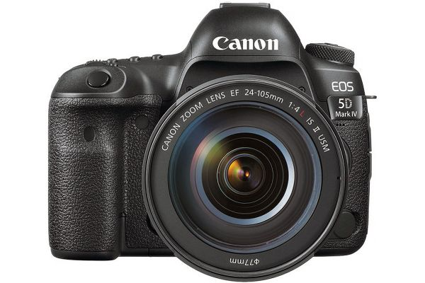 Large image of Canon EOS 5D Mark IV DSLR With EF 24-105mm f/4L IS II USM Kit - 1483C010