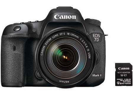 Canon EOS 7D Mark II EF-S 18-135mm IS USM Wi-Fi Adapter Kit - 9128B135