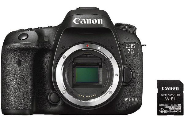Canon EOS 7D Mark II Digital SLR Camera Body Wi-Fi Adapter Kit - 9128B126