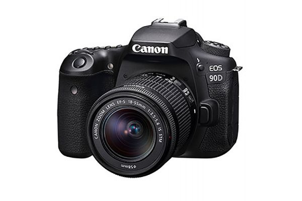 Large image of Canon EOS 90D Digital SLR Camera With EF-S 18-55mm f/3.5-5.6 IS STM Lens - 3616C009