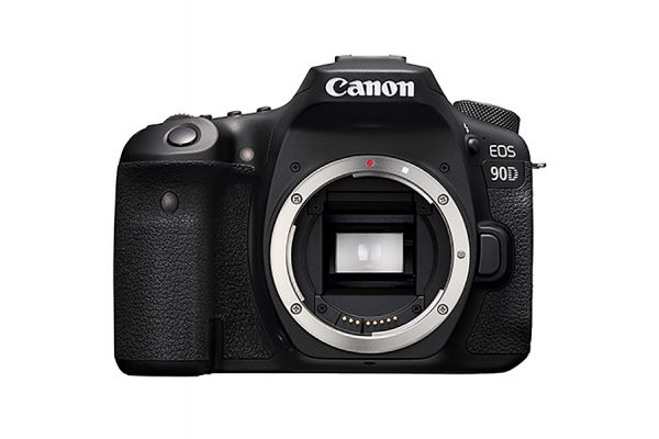 Large image of Canon EOS 90D Digital SLR Camera Body - 3616C002