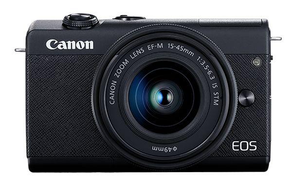 Large image of Canon Black EOS M200 EF-M 15-45mm IS STM Lens Kit - 3699C009
