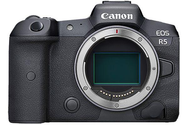 Large image of Canon EOS R5 DSLR Camera Body - 4147C002