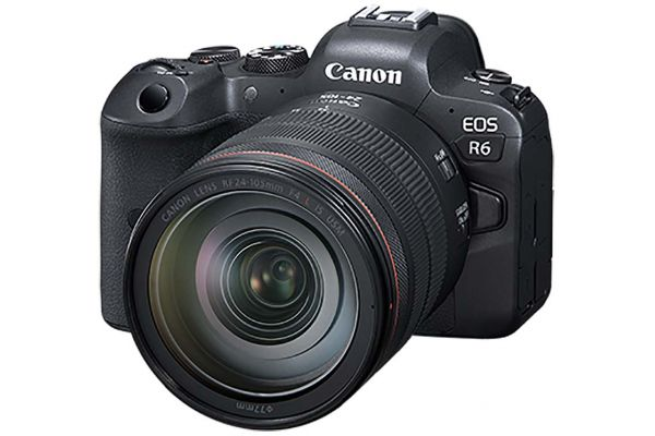 Large image of Canon EOS R6 RF 24-105mm F4 L IS USM Lens Kit - 4082C012