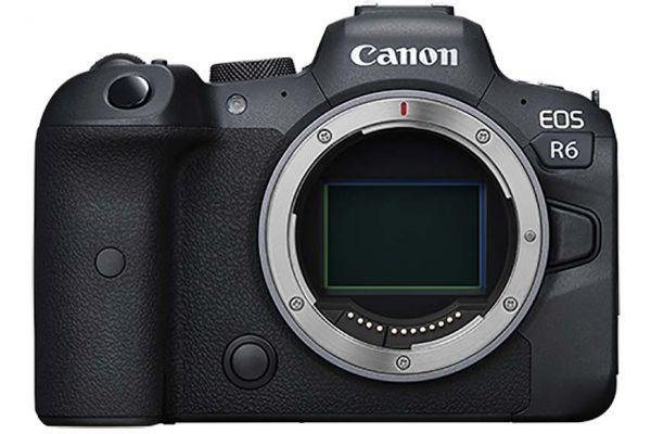 Large image of Canon EOS R6 DSLR Camera Body - 4082C002