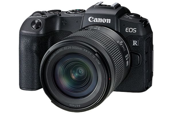 Large image of Canon EOS RP Camera With RF 24-105mm f/4-7.1 IS STM Lens - 3380C132