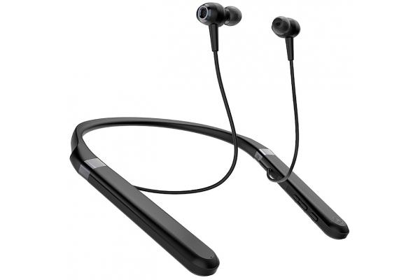 Large image of Yamaha Black Wireless Noise Cancelling Earphones With Neckband - EP-E70ABL