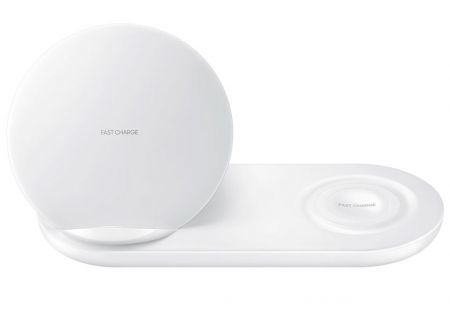 Samsung White Wireless Duo Charger Pad - EP-N6100TWEGUS